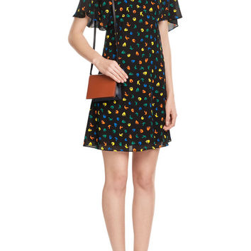 Bird Print Dress - Sonia Rykiel | WOMEN | US STYLEBOP.COM