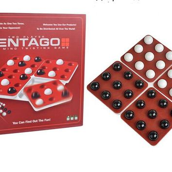 Pentago English Spanish  various language magic rotating beads board game rotating gobang table game educational chess toy