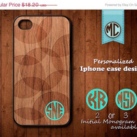 20% OFF SALE Personalized iPhone 4 Case - Plastic iPhone case - Rubber iPhone case - Monogram iPhone case - iPhone 4s case - K089