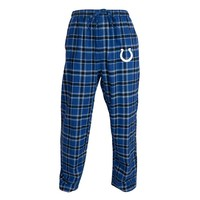 College Concepts Indianapolis Colts Acclaim Flannel Pants