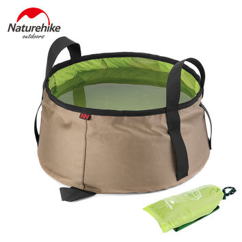 Portable Outdoor Camping Folding Water Bucket Washbowl
