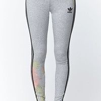 Adidas Pastel Rose Leggings - Womens Pants - Multi