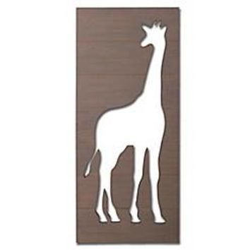 Buy The Peanut Shell® Giraffe Cutout Silhouette Wall Art from Bed Bath & Beyond