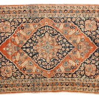 3x4.5 Antique Tabriz Rug