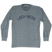 Loch Ness City Long Sleeve Vintage T-shirt