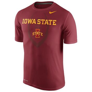 Nike Iowa State Cyclones Legend Football Icon Dri-FIT Performance Tee