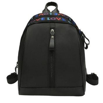 New Fashion Letter Printed Shoulder Backpack