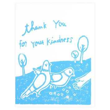 Pigeon Thank You Card