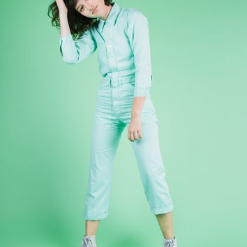 Everyday Jumpsuit - Mint Green