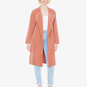 Lightweight Dylan Trench   American Apparel
