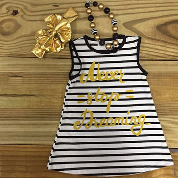 Never Stop Dreaming Tank Dress