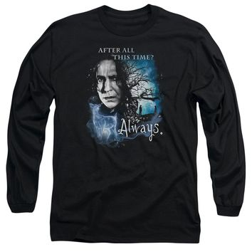 Harry Potter - Always Long Sleeve Adult 18/1 Officially Licensed Shirt