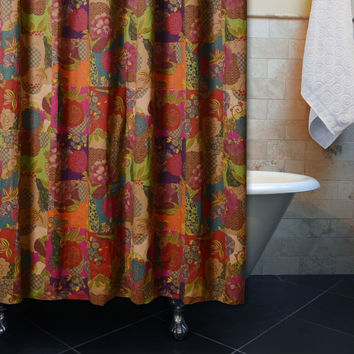 Marquis Collection Jewel Shower Curtain Bath