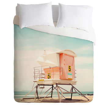 Bree Madden Beach Tower 5 Duvet Cover