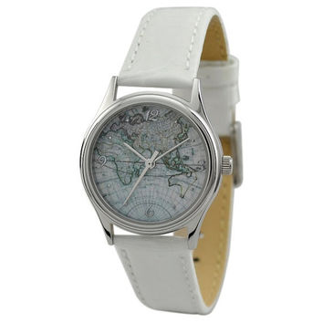 Ladies Vintage Map Watch (Eastern Hemisphere 1)
