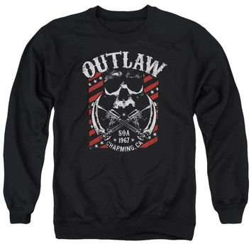 Sons Of Anarchy - Outlaw Adult Crewneck Sweatshirt