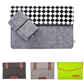 Mosiso Wool Felt Laptop Sleeve Cover Case for  Macbook 12 inch Air 11 13 Pro 13 15 inch Acer Chormebook 11 13 Only
