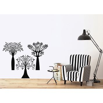 Vinyl Wall Decal Forest Trees Nature Home Sticker Interior Decor Unique Gift (n1204)