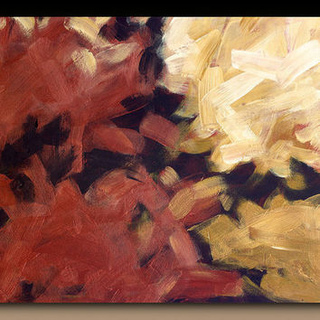 Abstract giclee on large canvas with gallery wrap