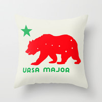 ursa Throw Pillow by holli zollinger