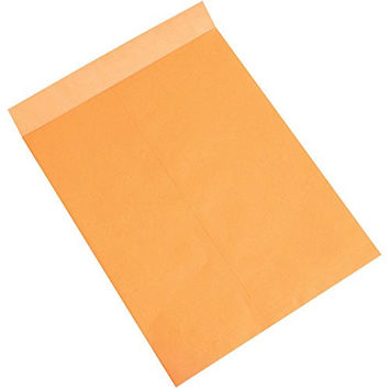 "JAM Paper 10"" x 13"" Open End Catalog Envelopes with Clasp Closure - Brown Kraft Paper Bag Recycled - 10/pack"