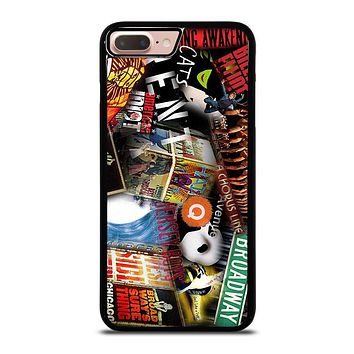 BROADWAY MUSICAL COLLAGE iPhone 8 Plus Case Cover