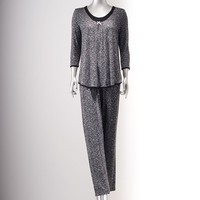 Simply Vera Vera Wang Pajamas: Sweet Disposition Pajama Set - Women's