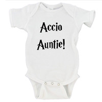 Accio Auntie! Uncle! Mommy! Daddy! Gerber Onesuit ®