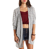 LONG OVERSIZED DOLMAN CARDIGAN