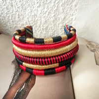 Statement Chokers necklace, African tribal necklace, african jewelry, ethnic chokers necklace, tribal necklace, african jewelry, afro