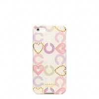 Coach :: New Heart Multi Iphone 5 Case
