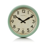 George Home Stylised Metal Wall Clock | Home Accessories | George at ASDA