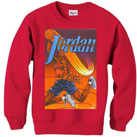 Jordan 6 six space jam vintage spike lee MICHAEL JORDAN mars BLACKMON sweater sweatshirt nba bulls men retro grape xmas small-2xl