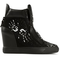 Giuseppe Zanotti Design concealed wedge sneakers