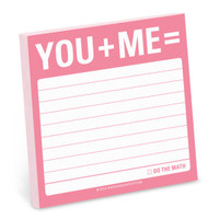 Knock Knock You + Me = Sticky Notes - Official Shop