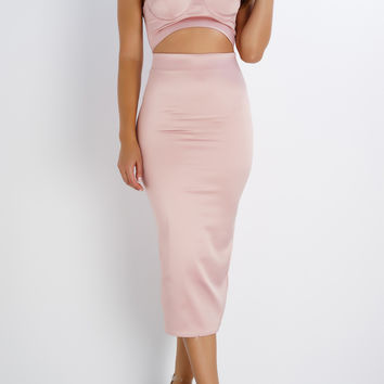 Ari Sweetheart Dress - Pink