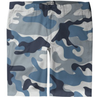 Blue and White Army Camo pattern