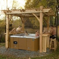 Outdoor Living Today BZS119 Breeze Spa Shelter - Outdoor Living Showroom