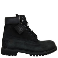 TIMBERLAND 6 INCH PREMIUM BOOT-BLACK SUEDE