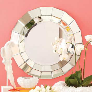 Ainsworth Round Beveled Wall Mirror - Ainsworth Round Beveled Wall  Mirror