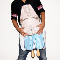 Brand New Dinner Party Novelty Funny Sexy Cooking Home BBQ printed Apron