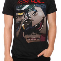 Gorillaz Faces T-Shirt