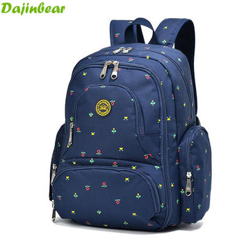 2016 New Large capacity multifunctional mummy backpack nappy bag baby diaper bags mommy maternity bag babies care product