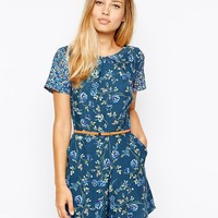 Oasis Floral Playsuit