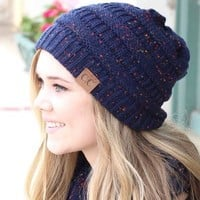 C.C. Beanie Speckled (MORE COLORS)