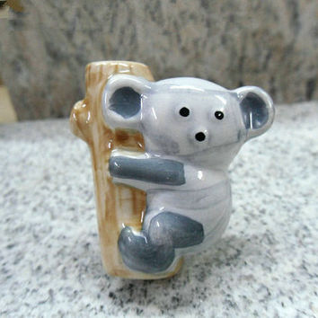 Kids Drawer Knobs Childrens Dresser Drawer Knobs Baby Boys Girls Koala Ceramic Knobs / Animal Knobs Handles Pulls Cartoon Hardware
