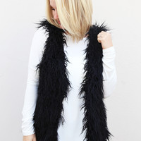 Let It Snow Vest {Black}
