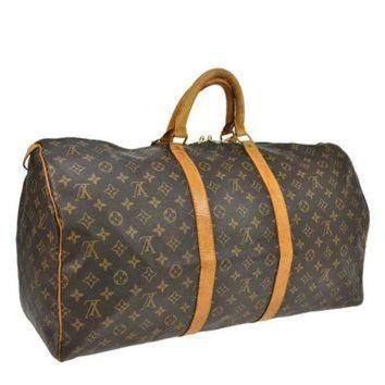 Tagre™ ONETOW Reduced Authentic Vintage Louis Vuitton Keep All 55 Boston Keep All Duffle Bag Good Co