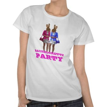 Funny bunny girl Bachelorette party Shirts