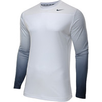 Nike Men's Hyperspeed Cell Fade Long-Sleeve Training Shirt